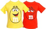 Parv Collections Boys Printed (Yellow)