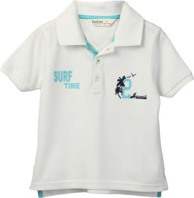 Beebay Embroidered Boy's Round Neck T-Shirt