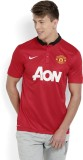 Nike Printed Men's Polo Neck Red T-Shirt