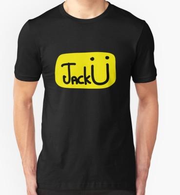 Jack U Printed Men's Round Neck T-Shirt