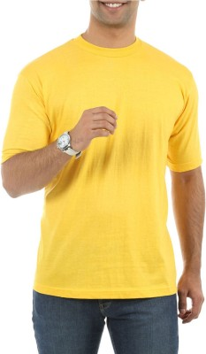 Roxor Solid Men's Round Neck T-Shirt