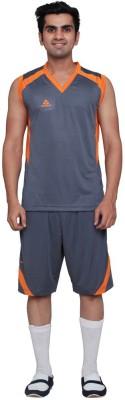 Aerotech Solid Men's V-neck T-Shirt
