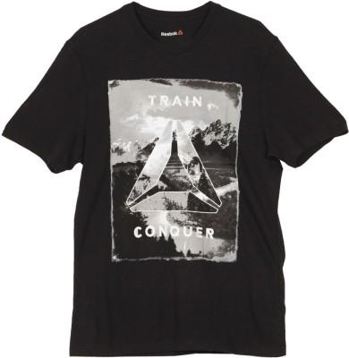 Reebok Printed Men's Round Neck T-Shirt