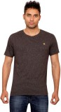 Forever Yoga Solid Men's Round Neck T-Sh...