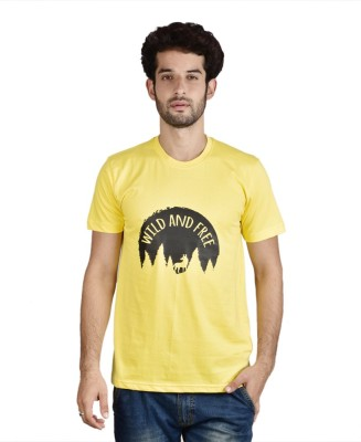 Menlo Graphic Print Men's Round Neck T-Shirt