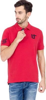 urbantouch Solid Men's Polo Neck T-Shirt
