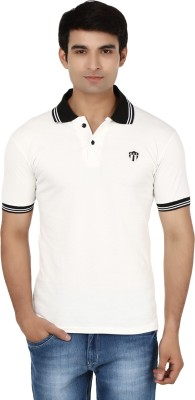 Air Life Style Solid Men's Polo Neck T-Shirt