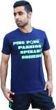SPINART Printed Men's, Women's Round Nec...