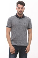 ALX New York Chevron Men's Polo Neck Grey T-Shirt best price on Flipkart @ Rs. 599