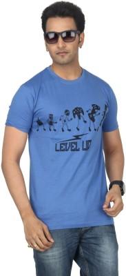 Bandarwalla Printed Men,s Round Neck T-Shirt
