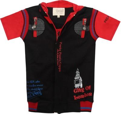 Tonyboy Printed Baby Boy's Hooded T-Shirt