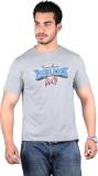 Lluminati Graphic Print Men's Grey T-Shi...