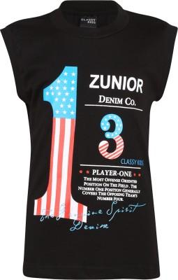 Meril Printed Boy's Round Neck T-Shirt