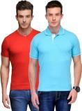 Scott International Solid Men's Polo Nec...