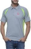 Swiss Polo Striped Men's Polo T-Shirt