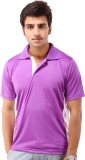 Being Champion Solid Men's Flap Collar N...