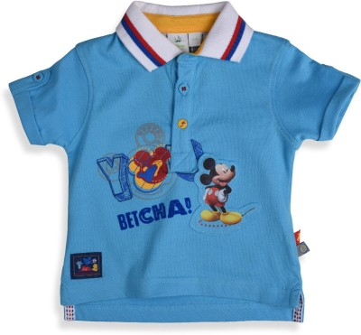 Mothercare T- shirt For Boys(Blue)