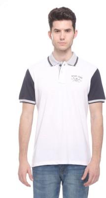 OCTAVE Solid Men's Polo Multicolor T-Shirt