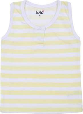 Lula Striped Baby Boy's Round Neck T-Shirt