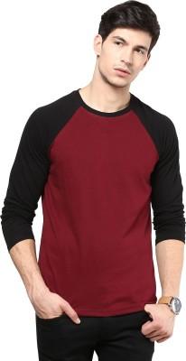 Izinc Solid Men,s Round Neck Multicolor T-Shirt