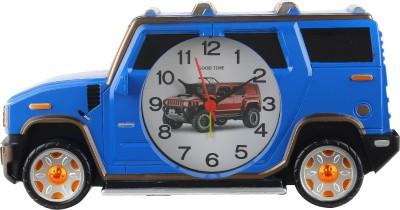 Taino Analog Blue Clock