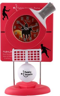 Bazaar Pirates Analog Pink Clock
