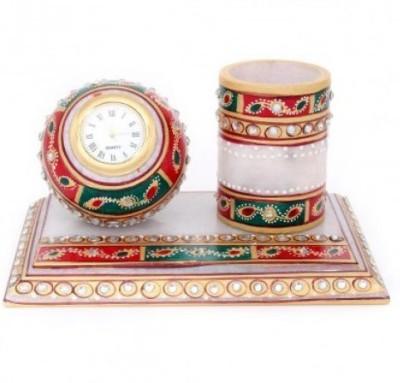 Antique Handicrafts Analog Multicolor Clock