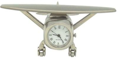 Swiftech Analog Silver Clock