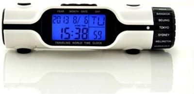HitPlay Digital White Clock