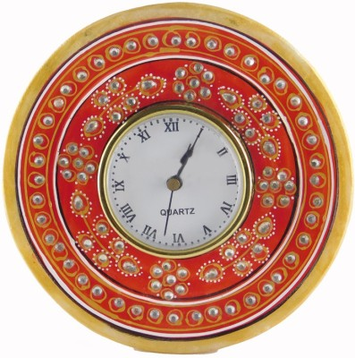 Chave Analog Multicolor Clock