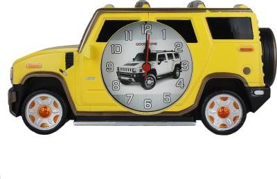 Taino Analog Yellow Clock