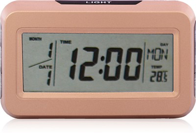 Arete KK-2616 Multi Display Digital Alarm Digital Golden Clock
