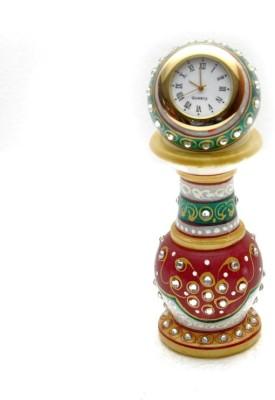 Ishita Handicrafts Analog White Clock