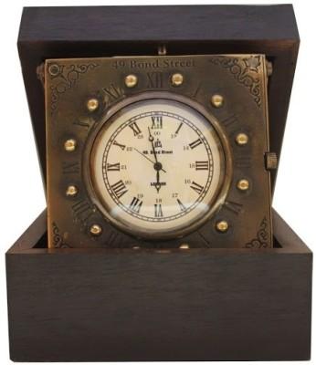 Prachin Rosewood - Antiq Brass Clock