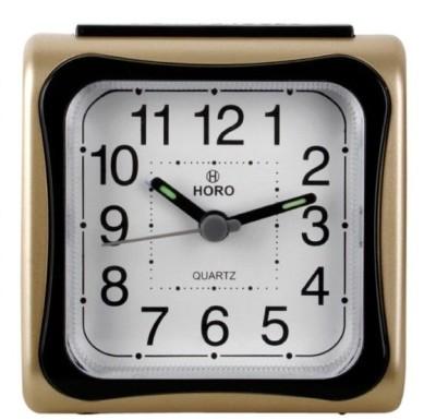 Horo Analog Golden, Black Clock