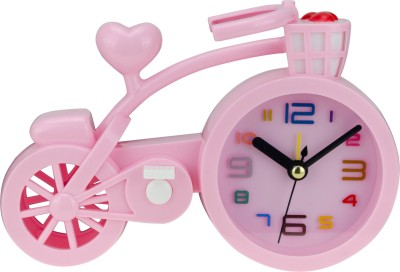 Avenue Analog Pink Clock
