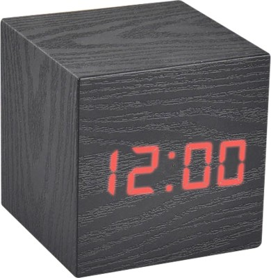 Empreus Digital Black Clock