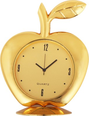 Bazaar Pirates Analog Golden Clock