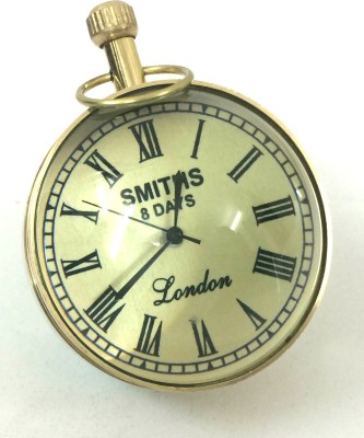 Smiths 8day London Analog Golden Clock