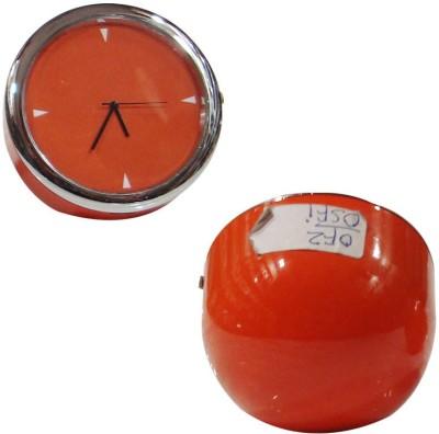 Raghav Analog Oranga Clock