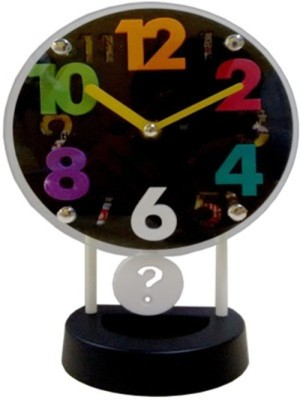 Palakz Analog Multicolour Clock