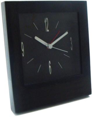 Power Plus Analog Black Clock