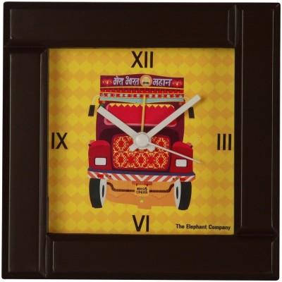 The Elephant Company Yellow Clock