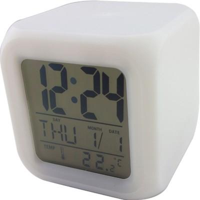 Sahibuy Digital White Clock