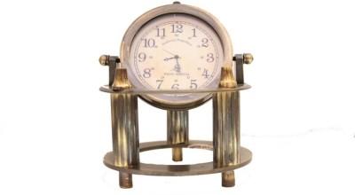 Prachin Antiq Brass Clock