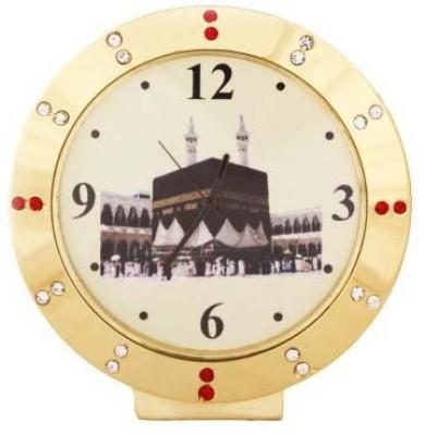 PTC Mart Analog Gold Clock