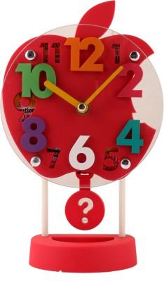 Bazaar Pirates Analog Red Clock