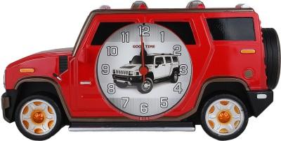 Taino Analog Red Clock