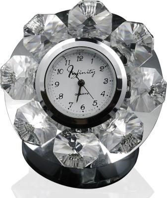 Infinity Analog Clear Clock