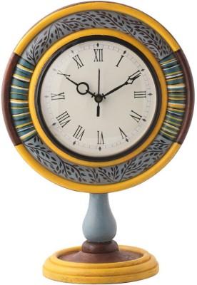 Rang Rage Analog Multicolor Clock